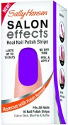 Sally Hansen Salon Effects Real Nail Polish Strips Violet Night Набор для дизайна ногтей