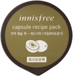 Innisfree Capsule Recipe Pack Red Kiwi Маска для лица с экстрактом красного киви