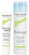 Noreva Exfoliac Set: Gel + Global 6 Эксфолиак Набор