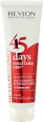 Revlon Professional Revlonissimo 45 Days Total Color Care 2 in 1 Shampoo & Conditioner Brave Reds Шампунь-кондиционер