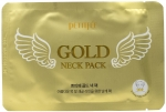 Petitfee Gold Neck Pack For Firming & Silky Smooth Neck Гидрогелевая маска для шеи с золотом