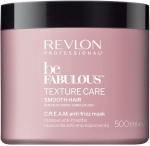 Revlon Professional Be Fabulous Texture Care Smooth Hair Mask Дисциплинирующая маска