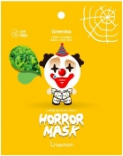 Berrisom Horror Mask Series Pierrot Маска тканевая с экстрактом зеленого чая Клоун
