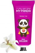 Baviphat Urban Dollkiss It's Real My Panda Hand Cream Grace Lily Крем для рук Лилия