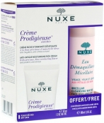 Nuxe Creme Prodigieuse Enrichie Set (Creme Prodigieuse Enrichie, Micellar Cleansing Water with Rose Petals) Продижьёз Набор