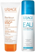 Uriage Bariesun Set (Mineral Cream Very High-Protection SPF50+, Eau Thermale d'Uriage) Барьесан Набор