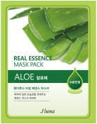 Juno Real Essence Mask Pack Aloe Тканевая маска с алоэ