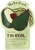 Tony Moly I'm Real Avocado Mask Sheet Тканевая маска с экстрактом авокадо