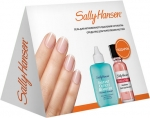 Sally Hansen Gift Set (Instant Cuticle Remover, Hard As Nails Helps Strengthen Nails — Natural Tint) Набор для ухода за ногтями