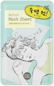 "Holika Holika Mask Sheet Before Deep Sleep Тканевая маска ""Перед сном"""