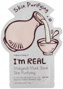 Tony Moly I'm Real Makgeolli Mask Sheet Moisturizing Тканевая увлажняющая маска