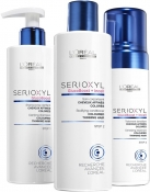 L'Oreal Professionnel Serioxyl Kit 2 for Coloured Thinning Hair Набор (шампунь, уход, мусс)