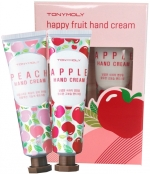Tony Moly Happy Fruit Hand Cream Special Set Набор кремов для рук