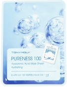 Tony Moly Pureness 100 Hyaluronic Acid Mask Sheet Тканевая маска с гиалуроновой кислотой