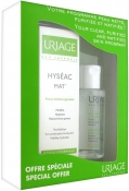 Uriage Hyseac Gift Set (Hyseac Mat, Thermal Micellar Water Combination to Oily Skin) Набор Исеак