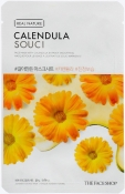 The Face Shop Real Nature Calendula Face Mask Тканевая маска с экстрактом календулы