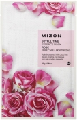 Mizon Joyful Time Essence Mask Rose Тканевая маска для лица с экстрактом розы