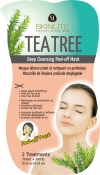 "Skinlite Tea Tree Deep Cleansing Peel-off Mask Маска-пленка ""Масло чайного дерева"""