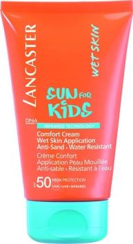 Ланкастер  Солнцезащитный  водостойкий  крем-комфорт  для  детей  SPF50  125мл