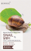 Eunyul Natural Moisture Mask Pack Snail Тканевая маска для лица с муцином улитки