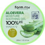 Farm Stay Moisture Soothing Gel Aloevera Гель с экстрактом алое вера