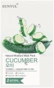 Eunyul Natural Moisture Mask Pack Cucumber Тканевая маска для лица с экстрактом огурца