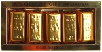 Baviphat Urban Dollkiss Agamemnon 24K Gold Bar Set Набор Мыло косметическое 24K