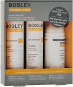 Bosley Bos Defense Starter Pack Normal to Fine Color-Treated Hair Система Желтая