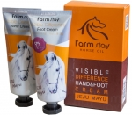 Farm Stay Visible Difference Jeju Mayu Complete Hand & Foot Cream Набор кремов для рук и ног