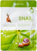 Farm Stay Visible Difference Mask Sheet Snail Тканевая маска с экстрактом улитки