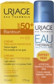 Uriage Bariesun Set Cream Very High Protection SPF50+ Free Eau Thermale Барьесан Набор (крем, термальная вода)