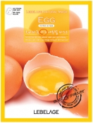 Lebelage Egg Natural Mask Тканевая маска для лица с экстрактом яйца