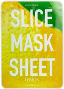Kocostar Slice Mask Sheet Lemon Маска-слайс для лица Лимон