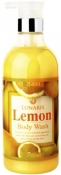 Lunaris Body Wash Lemon Гель для душа с экстрактом лимона