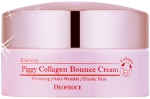 Deoproce Piggy Collagen Bounce Cream Крем для лица со свиным коллагеном