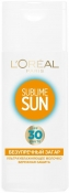 L'Oreal Paris Sublime Sun Perfect Tanning Milk SPF30 Молочко Безупречный загар SPF30