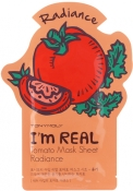 Tony Moly I'm Real Tomato Mask Sheet Тканевая маска с экстрактом томата