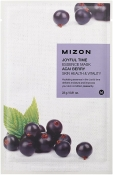 Mizon Joyful Time Essence Mask Acai Berry Тканевая маска для лица с соком ягод асаи