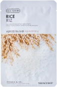 The Face Shop Real Nature Rice Face Mask Тканевая маска с экстрактом риса