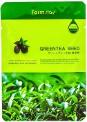 Farm Stay Visible Difference Mask Sheet Green Tea Seed Тканевая маска с экстрактом зеленого чая