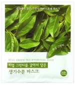 Holika Holika Found From Nature Green Tea Hydrogel Mask Гидрогелевая маска с зеленым чаем