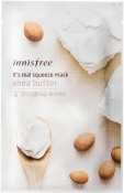 Innisfree It's Real Squeeze Mask Shea Butter Маска для лица с маслом Ши