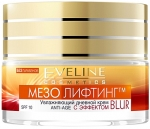 Eveline Mezo Lifting Moisturising Day Cream Anti-Age With Blur Effect Дневной крем c эффектом blur
