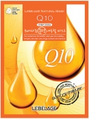 Lebelage Q10 Natural Mask Тканевая маска для лица с коэнзимом Q10