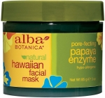 Alba Botanica Hawaiian Facial Mask Pore-Fecting Papaya Enzyme Маска для лица энзимная Папайя