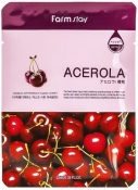 Farm Stay Visible Difference Mask Sheet Acerola Тканевая маска с экстрактом ацеролы