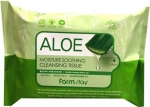 Farm Stay Aloe Moisture Soothing Cleansing Tissue Салфетки с экстрактом алоэ