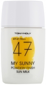 Tony Moly My Sunny Powdery Finish Sun Milk SPF47 Cолнцезащитное молочко SPF47