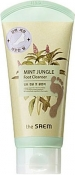 The Saem Mint Jungle Foot Cleanser Пенка-скраб для ног