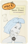 "Holika Holika Mask Sheet After Sauna Тканевая маска ""После сауны"""